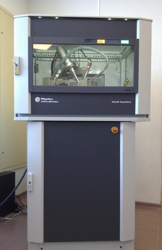 В СПбГУ установлена уникальная рентгеновская система Rigaku XtaLAB SuperNova