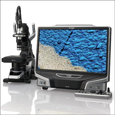 Универсальный цифровой микроскоп Keyence VHX-5000 купить в Техноинфо