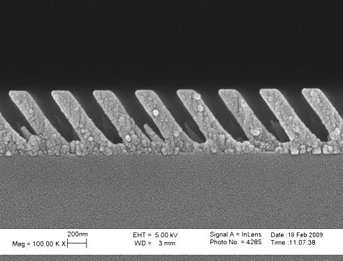 Реактивное ионное травление оксида титана (TiO2), описание процесса и оборудование