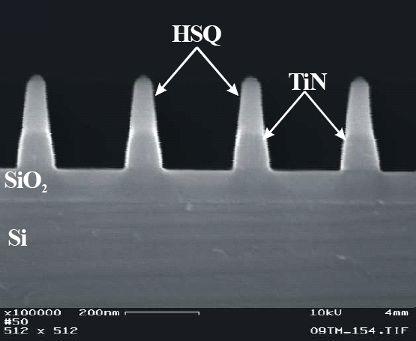 Анизотропное травление нитрида титана (TiN), описание процесса и оборудование