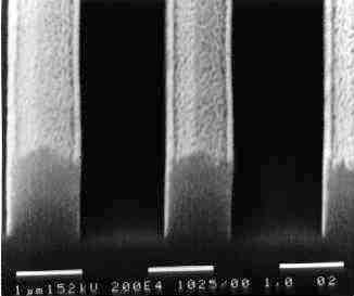 Сухое травление силилированного резиста с применением ICP источника, описание процесса и оборудование