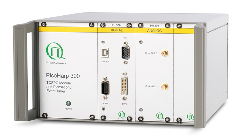 Счетчик фотонов (TCSPC) high-end класса PicoQuant PicoHarp 300 купить в Техноинфо