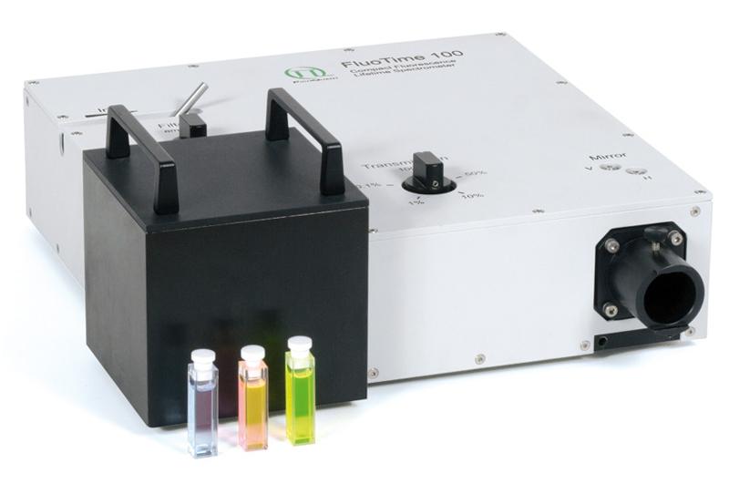 Времяразрешенный флуоресцентный спектрометр PicoQuant Fluotime 100 купить в Техноинфо