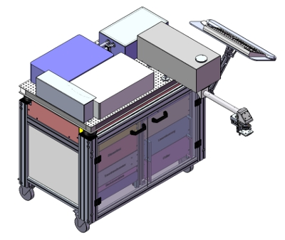 Мультифотонный томограф Jenlab DermaInspect CARS-MPT купить в Техноинфо