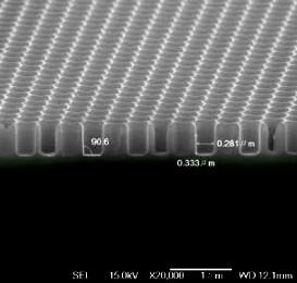 Травление (с ICP) GaAs/AlGaAs для фотонах кристаллов, описание процесса и оборудование