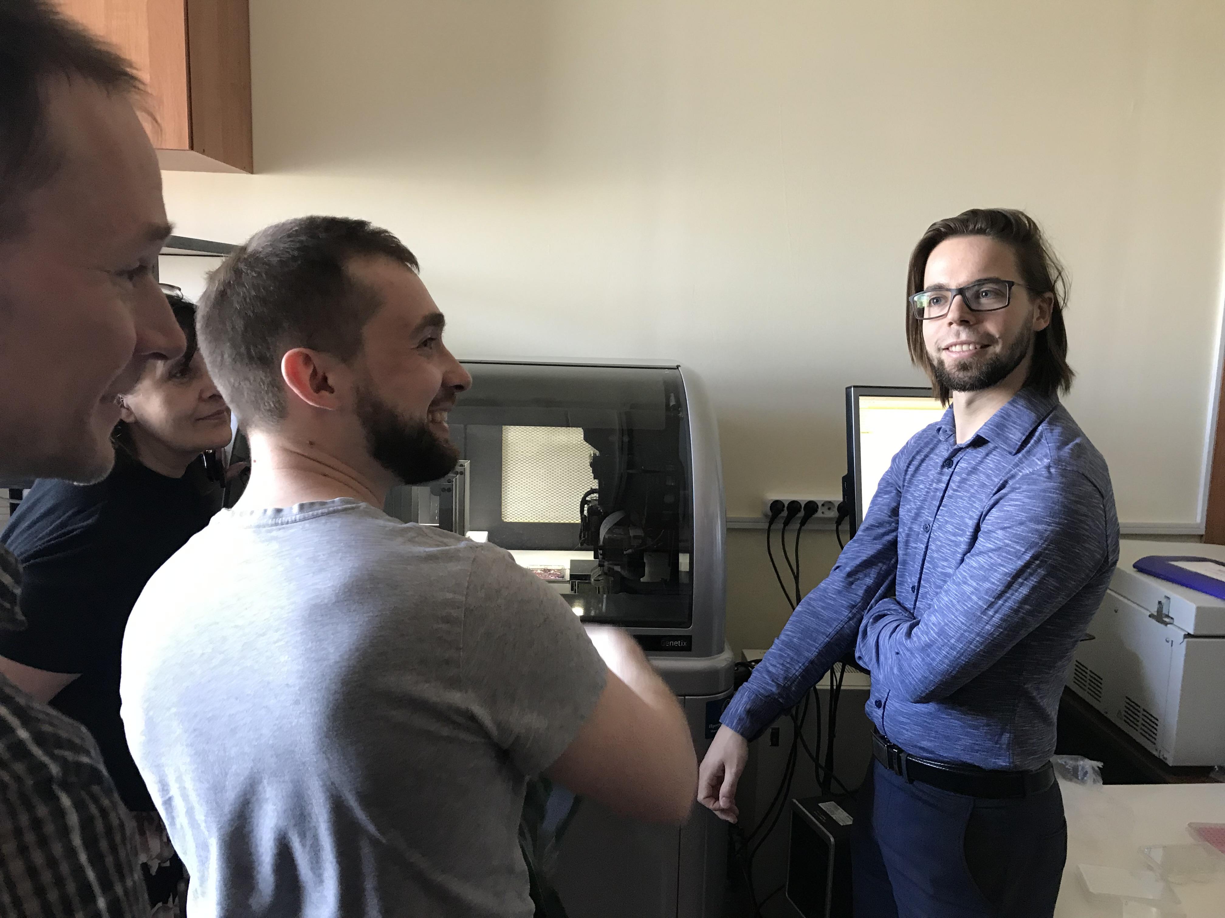 мастер-класс по отбору клеточных клонов