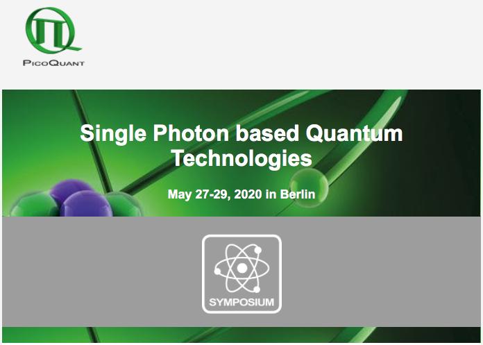 """Анонсы мероприятий: подходит к концу срок ранней регистрации на международный симпозиум""""Single Photon based Quantum Technologies"""", который пройдет 27-29 мая в Берлине"""