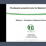"""PicoQuant's powerful tool for material science"""
