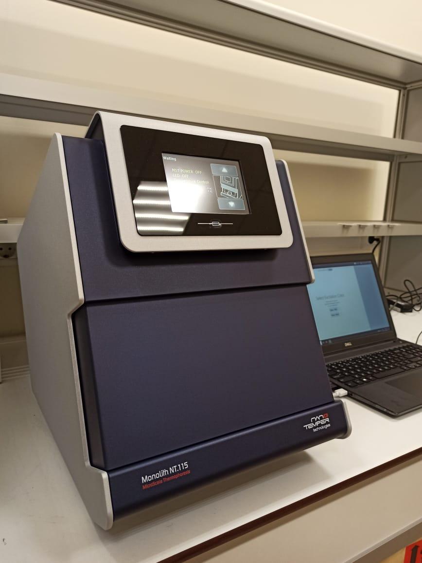 В Институте биологии гена РАН установлена система изучения аффинностей белков Monolith производства Nanotemper